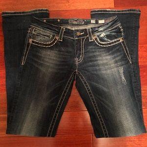 MissMe Bootcut Jeans Size 29
