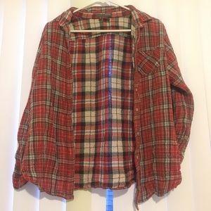 SANDRA red flannel