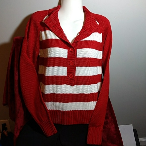 FCLtd Other - Red White Sweater