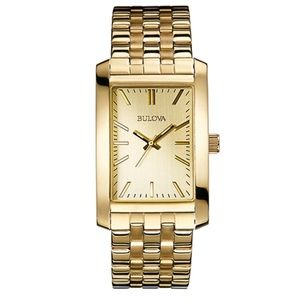 Bulova Ladies Corporate Collection Gold Watch