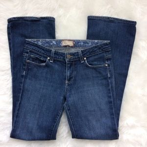 PAIGE Hollywood Hills Bootcut Jeans Size 28