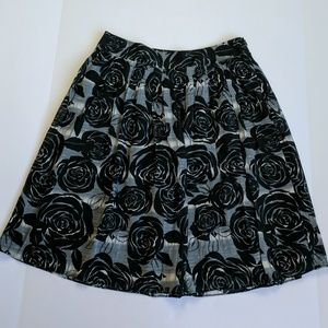 Cute Floral Banana Republic Skirt