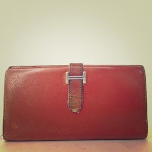 SALE✨HERMES Bearn Gusset wallet