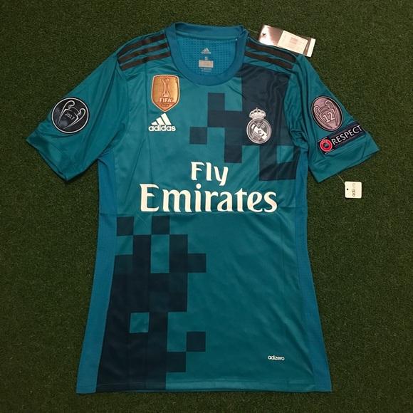 cfb384e8b RONALDO Real Madrid Soccer Jersey BLUE 3rd top