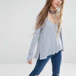 Malibu thermal free people silver s