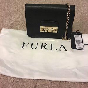 Like new Furla mini crossbody bag