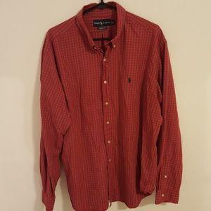 Men's XXL Ralph Lauren long sleeve dress shirt