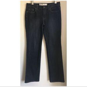 Ann Taylor LOFT Dark Wash Jeans Original Boot Cut
