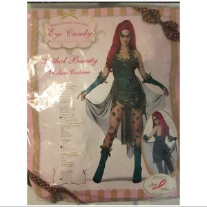 Lethal Beauty Poison Ivy Halloween Costume Large