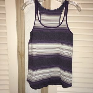 Lululemon stripe tank top shirt
