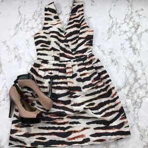 BB Dakota /zebra Print Dress