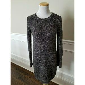Gap Slim Fit Tunic Sweater Dress Grey SZ XS