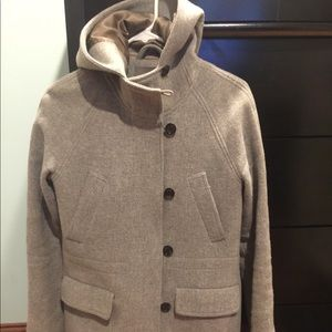 Jcrew stadium cloth coat size 4