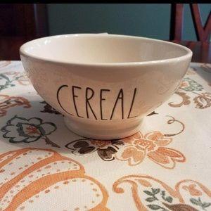 Rae Dunn cereal bowl