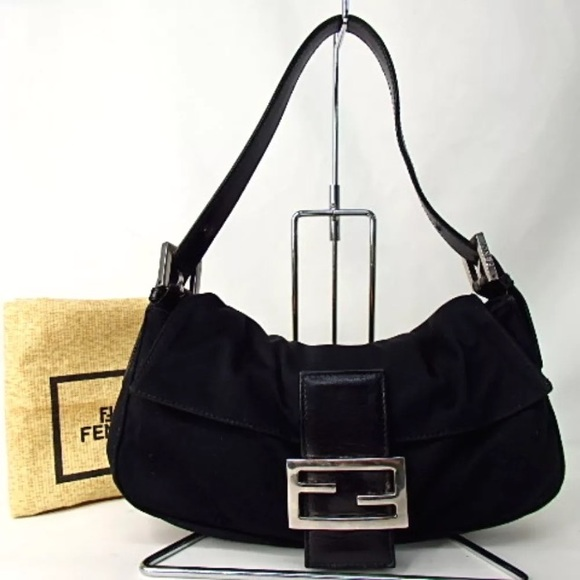 6b8c22cd3a Fendi Handbags - FENDI mama black bag