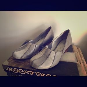 Marc Gray Leather Flats Vintage Style 37