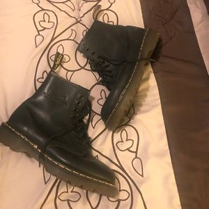 Black Dr Marten boots. Used. Great condition.