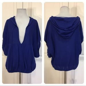 Free People royal blue top
