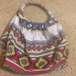 Tribal print purse