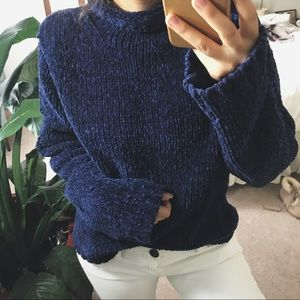 MIDNIGHT PLUSH thick chenille knit
