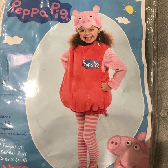 Toddler peppa pig halloween costume ?  sc 1 st  Poshmark : pig toddler costume  - Germanpascual.Com