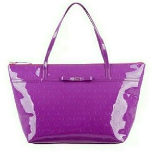 KATE SPADE Sophie Tote Large and Purple NWT