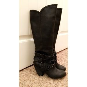 Cocktail Queen Riding Boot