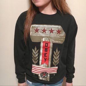 Men's Obey Crewneck Sweater