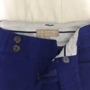 Blue crop pants