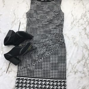 Jessica Simpson Hounds Tooth Dress