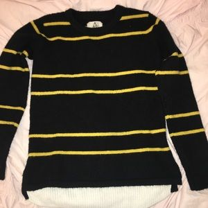 UNIF X Urban Outfitters Black & Yellow Sweater