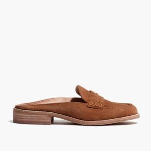 Madewell the elinor loafer mule