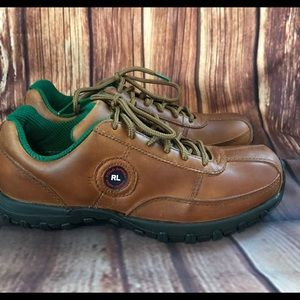 NWOB POLO SPORT Ralph Lauren VTG Walking Shoes 7 B