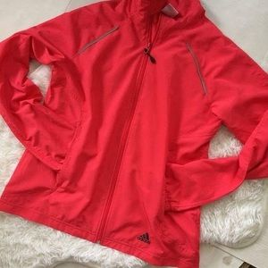 Adidas lightweight athletic jacket