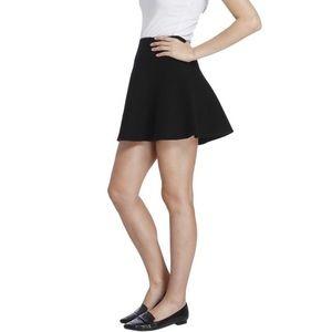 Black Cotton Circle Skirt