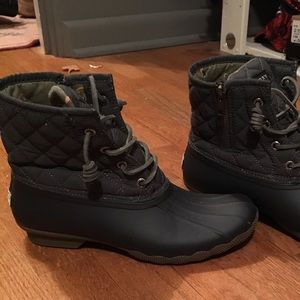 Sperry too sider rain boots