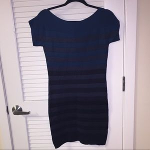 French Connection Blue Sweater Dress