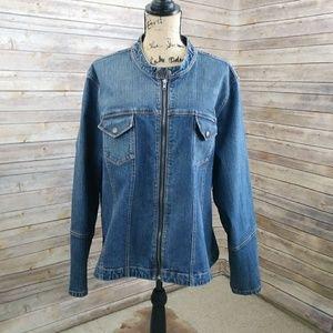 Venezia Lane Bryant Denim Jacket Size 22/24