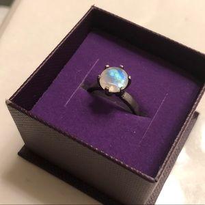 Jewelry - 2ct rainbow moonstone engagement ring