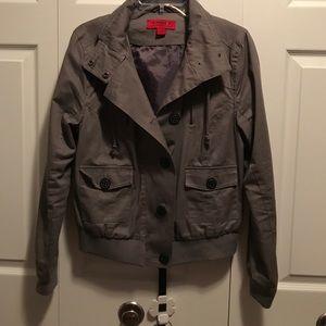 Coffeeshop gray jacket