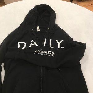 American Apparel black hoodie
