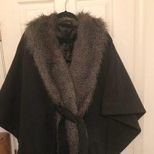 Rachel Lux for QVC Faux Fur Cape