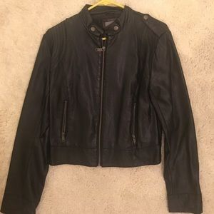 Classic faux leather jacket from Forever 21