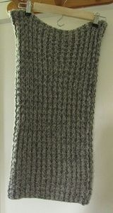 Chunky Knit Snood infinity scarf