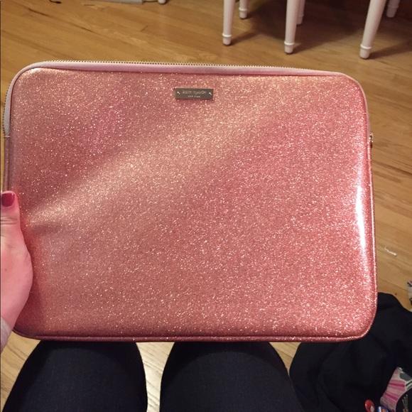 best website 15d24 9298c Kate Spade glitter laptop sleeve