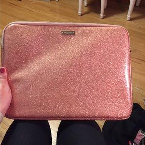 Kate Spade glitter laptop sleeve