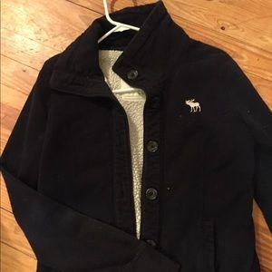 Abercrombie & Fitch Vintage Fleece Jacket
