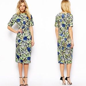 NWT Asos Midi Wiggle dress || sz 0