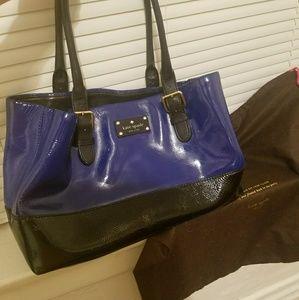 Kate Spade Handbag purse- Royal Blue