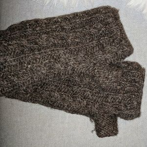 Accessories - Fingerless wool gloves